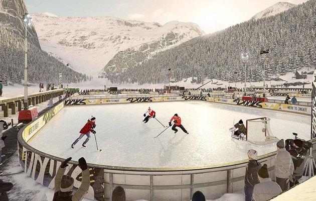 Hockeyn återvänder till rötterna genom att gå tillbaka till de frusna sjöarna i NHL 19