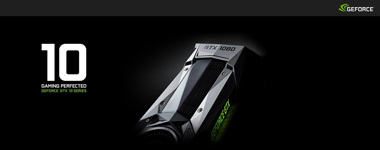 GeForce GTX 10 - grafikkort i världsklass