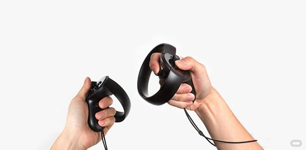 VR med Oculus Touch