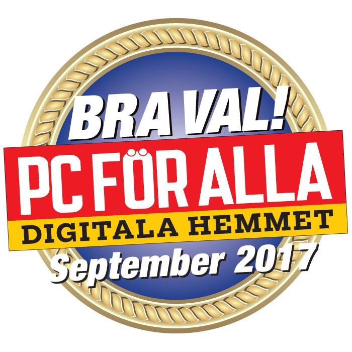 Bra val i Pc för alla september 2017