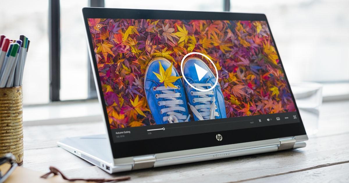 Bild av datorn HP Pavilion x360