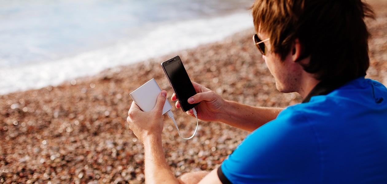 En powerbank kan ladda din mobil eller surfplattan när som helst