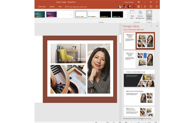 PowerPoint, som är en del av Office 365