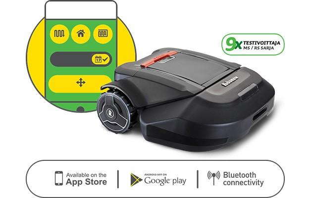 Robomow – Ohjaa robottia sovelluksen avulla