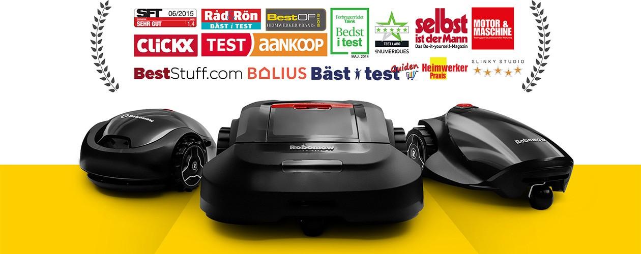 Robomow - bäst i test - robotgräsklippare