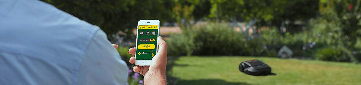 Robomow – styr den med en app