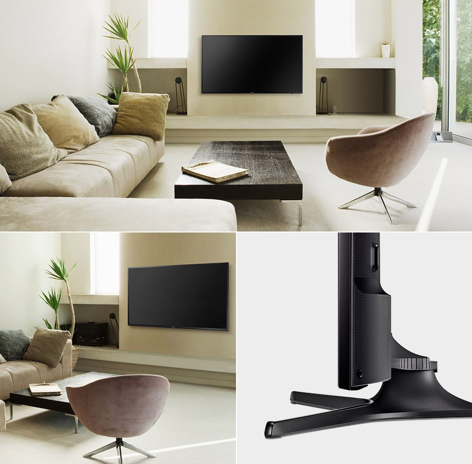 Samsung TV - Stilrent, overaltt