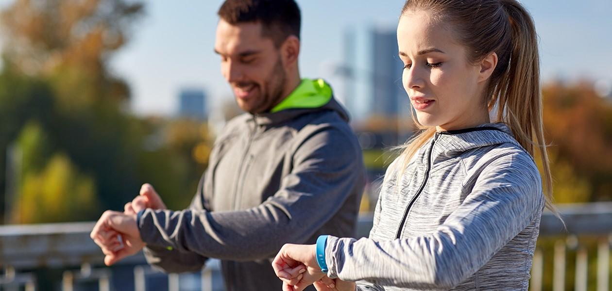 Smartwatches, sportsure og aktivitetsmålere