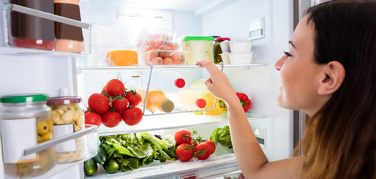 varm mad i køleskabet