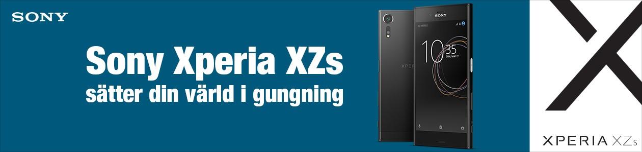 Sony Xperia XZs sätter din värld i gungning