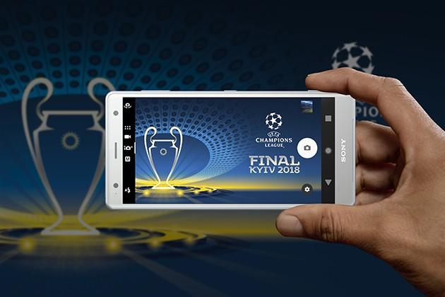 Sony tar deg med til Champions League finalen