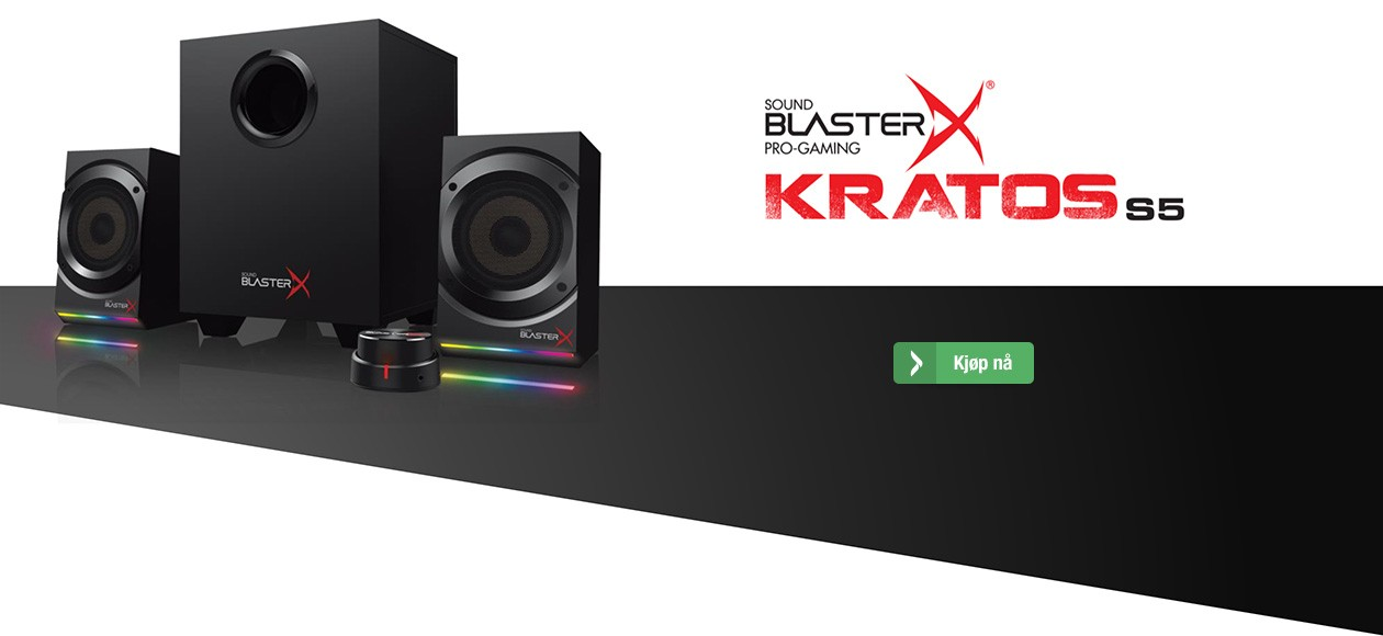 Sound Blaster X - Kratos S5
