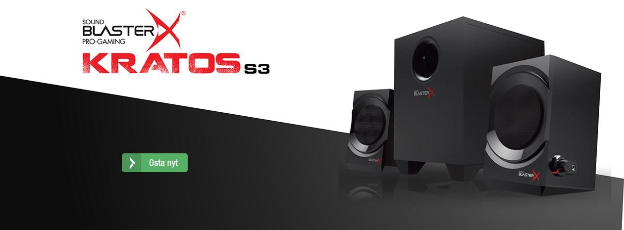 Sound Blaster X - Kratos S3