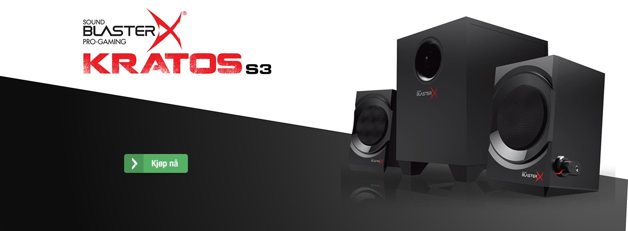 Sound Blaster X - Kratos S3