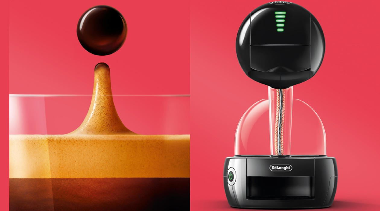 dolce gusto stelia design inspireret av kaffe elkj p. Black Bedroom Furniture Sets. Home Design Ideas