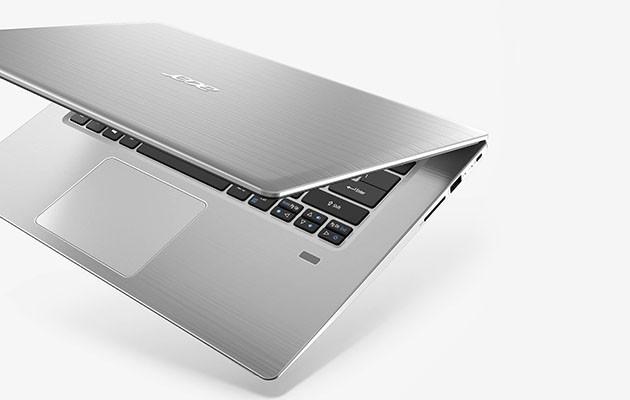 """Acer Swift 3 har ett bakgrundsbelyst tangentbord"""" title="""