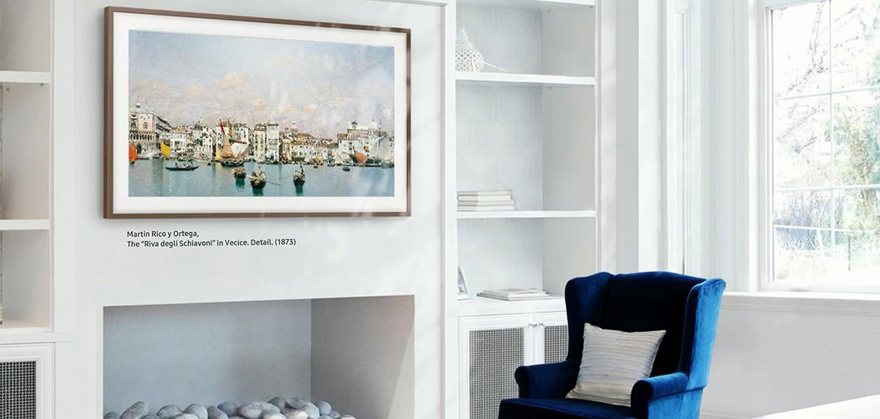 Bild av the Frame som visar ett konstverk