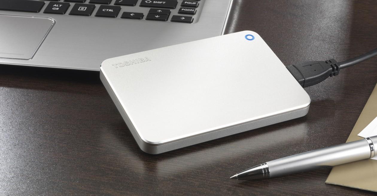 Toshiba Canvio Premium hårddisk - smart lagring i toppklass
