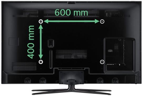 Mät TV:ns VESA-mått
