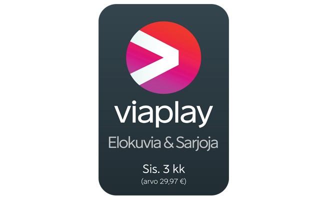 Osta pelikonsoli ja saat Viaplay Elokuvia & Sarjoja 3 kuukaudeksi kaupan päälle