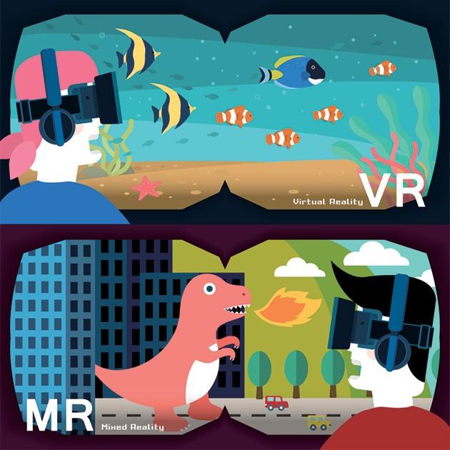 Mixed Reality (MR) yhdistää virtuaalimaailman ja todellisuuden