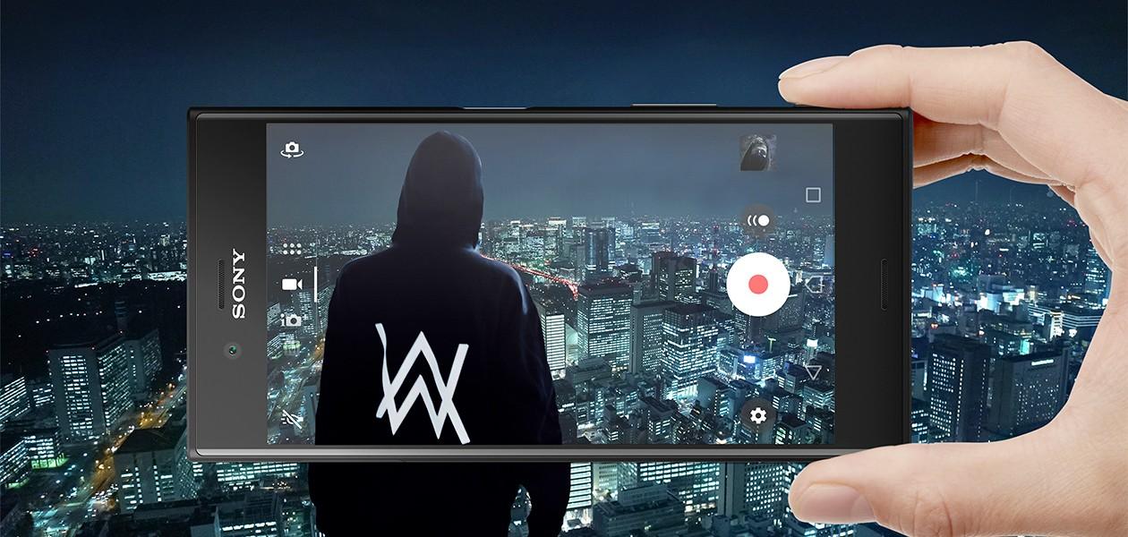 Sony Xperia XZs setter verden i slowmotion, sammen med Alan Walker