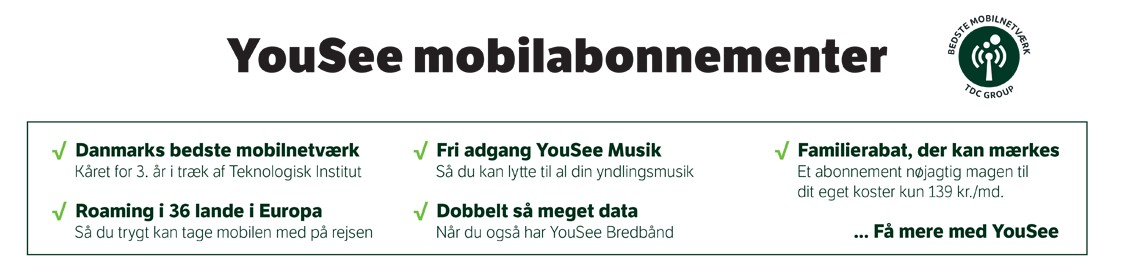 Yousee Mobilabonnement