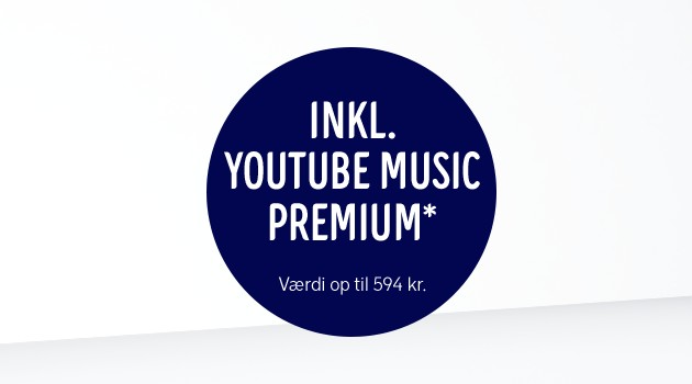 Få YouTube Music Premium med i købet